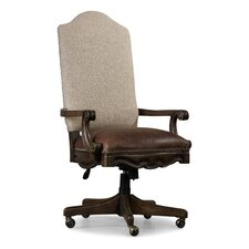 Rhapsody High-Back Leather Executive Chair with Arms