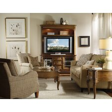 Windward Entertainment Center with Hutch