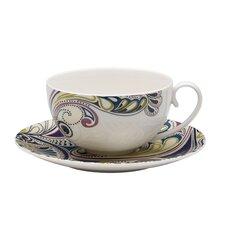 "Cosmic 6"" Tea Saucer"