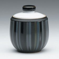Jet Stripes 10 Ounce Covered Sugar Bowl