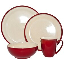 Dine Stoneware 4 Piece Place Setting
