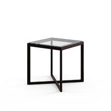 """Marc Krusin 18"""" End Table in Ebonized Oak"""