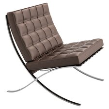 Barcelona Chair in Stainless Steel