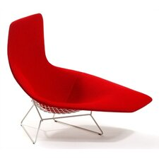 Bertoia Asymmetric Chaise with Full Cover