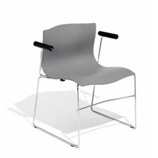 Handkerchief Non-Stacking Arm Chair