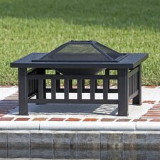 Stonemont Steel Wood Burning Fire Pit