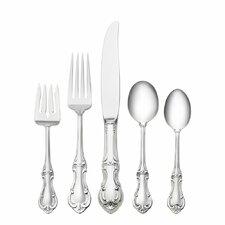 Sterling Silver Joan of Arc 66 Piece Dinner Flatware Set