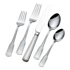 American Chippendale 65 Piece Flatware Set