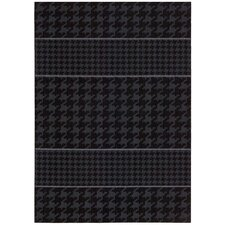 Griffith Charcoal Black/Grey Geometric Area Rug