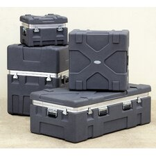 """Roto X Shipping Case in Gray without Foam: 12"""" H x 18"""" W x 14"""" D (Interior)"""