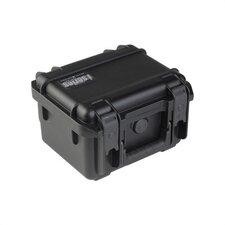 """Small Military Standard Waterproof Case in Black - 9.25"""" H  x 7.125"""" W x 6.125"""" D (inside)"""