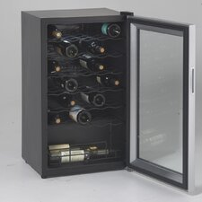 34 Bottle Single Zone Freestanding Wine Refrigerator