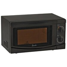 0.7 Cu. Ft. 700W Countertop Microwave in Black