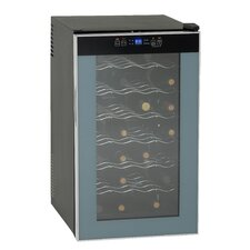 28 Bottle Single Zone Wine Cooler