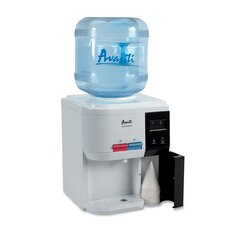 Top Loading Hot, Cold, and Room Temperature Countertop Water Cooler in White