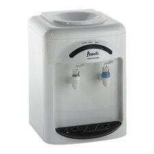 Top Loading Countertop Water Dispenser in White