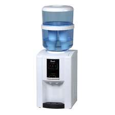 Top Loading Hot, Cold, and Room Temperature Countertop Water Dispenser in White
