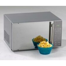 0.8 Cu. Ft. 700W Countertop Microwave in Silver