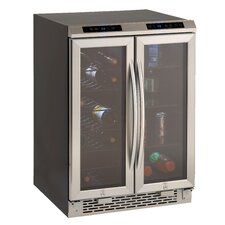 19 Bottle Dual Zone Freestanding Wine Refrigerator