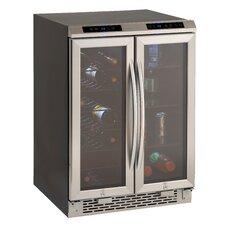 19 Bottle Dual Zone Freestanding Wine Refrigerator