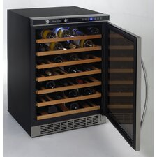 54 Bottle Single Zone Freestanding Wine Refrigerator