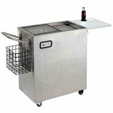 75 Qt.Serving Cart Heavy Duty Cooler