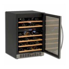 46 Bottle Dual Zone Freestanding Wine Refrigerator