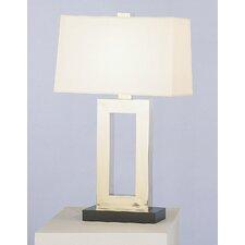 "Doughnut  29.5"" H Table Lamp with Rectangular Shade"