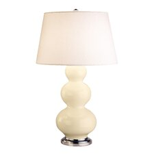 "Triple Gourd Large 32.75"" H Table Lamp with Empire Shade"