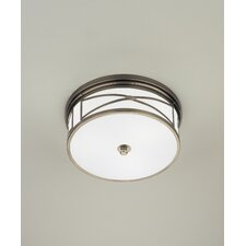 "Chase 6.25"" 3 Light Flush Mount"