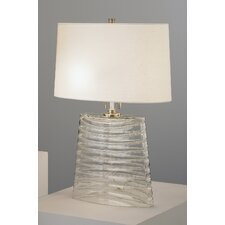 "Wells 32.75"" H Table lamp with Oval Shade"