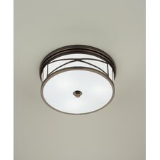 Chase 3 Light Flush Mount