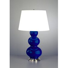 """Triple Gourd Large 32.75"""" H Table Lamp with Empire Shade"""