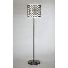 Jonathan Adler Parker Club Floor Lamp in Patina Bronze