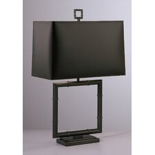 "Jonathan Adler Meurice Square 26.75"" H Table Lamp with Rectangular Shade"