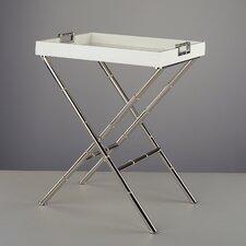 Jonathan Adler Meurice Butler Tray Table in White