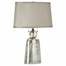 "Gossamer 24.5"" H Table Lamp with Oval Shade"