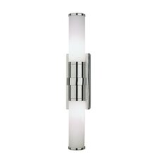 Roderick Bath Wall Sconce in Polished Chrome