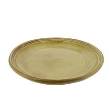 Classic 9-inch Cilantro Green Stoneware Side Plates (Set of 4)