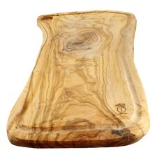 """French Home 20"""" L x 10"""" W Olive Wood Rustic Carving Board"""