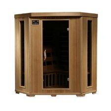 3 Person Corner Carbon FAR Infrared Sauna