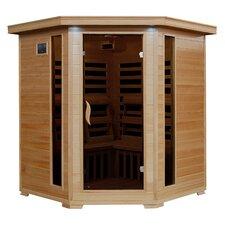 4 Person Corner Carbon FAR Infrared Sauna