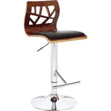 Adjustable Height Bar Stool with Cushion