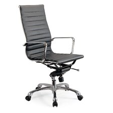Mid-Back Leatherette Office Chair