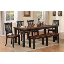 Carson 6 Piece Extendable Dining Set