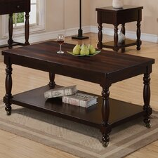 Hamilton Park Coffee Table with Casters