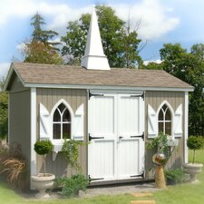 Classic 14 Ft. W x 10 Ft. D Wood Garden Shed