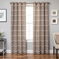 Calika Single Curtain Panel