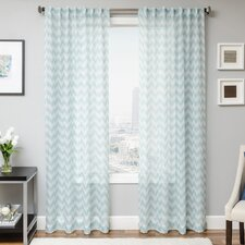Fortune Single Curtain Panel