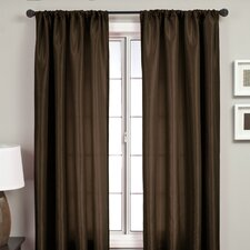 Bella Rod Pocket Single Curtain Panel